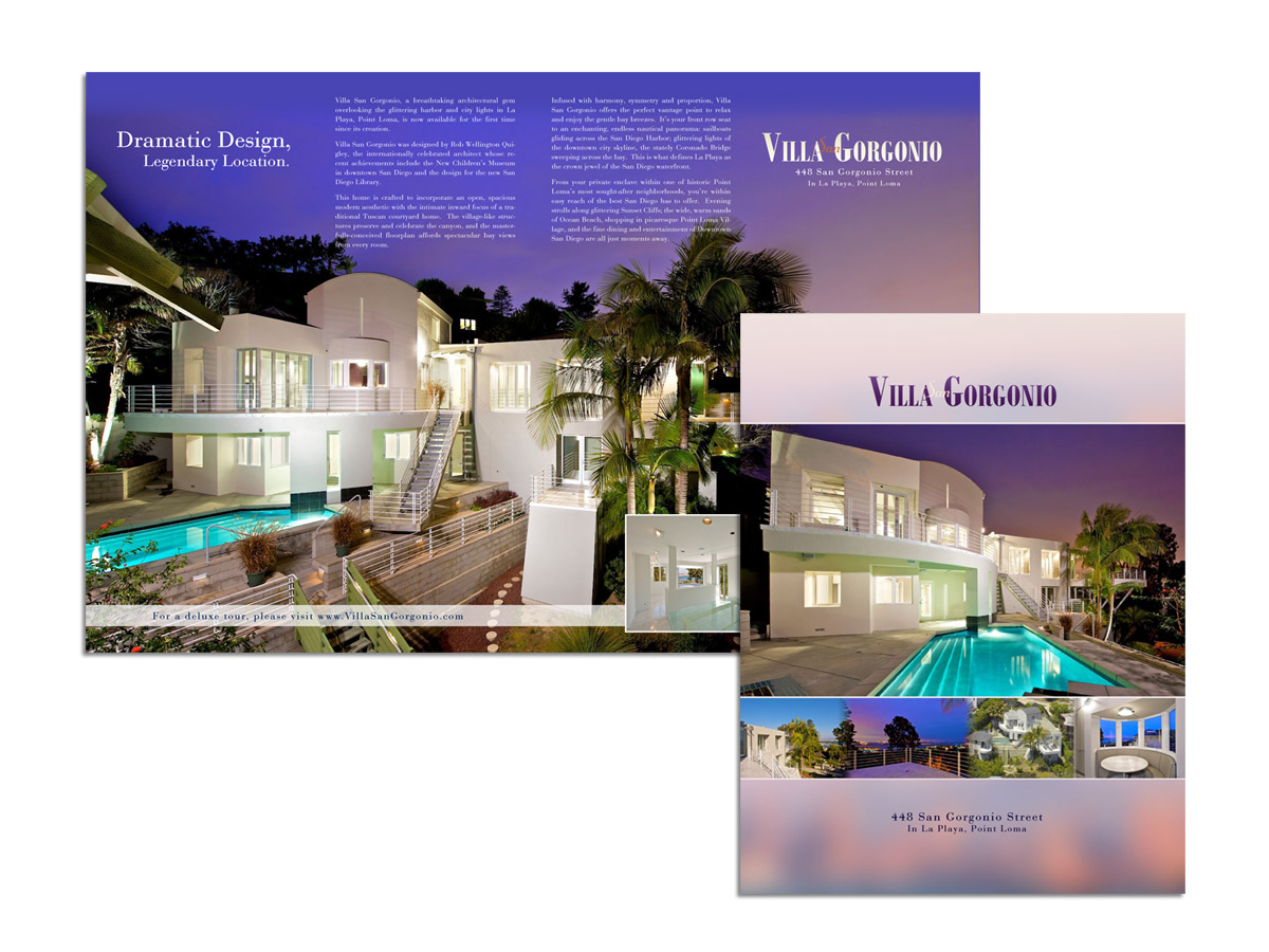 Deluxe Four-Page Brochures | LuxVT - Real Estate Marketing ...